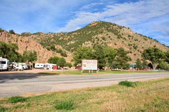 Bighorn Park and Campground Picture