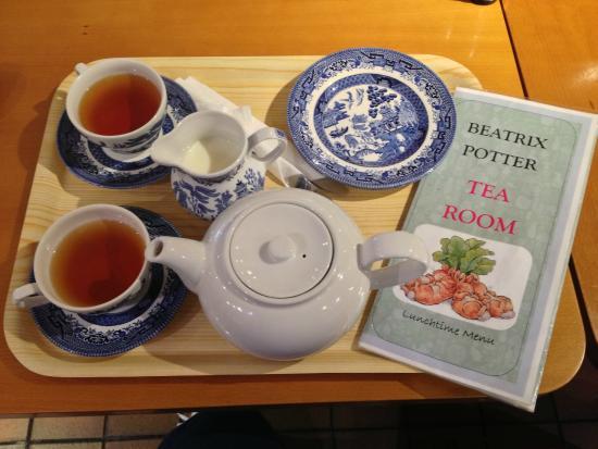 Bowness-on-Windermere, UK: tea room