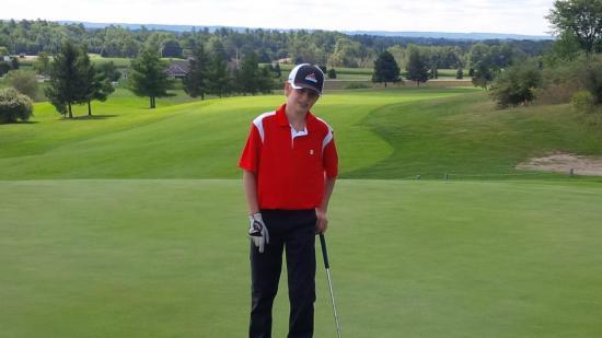 The Crown Golf Club: Back nine par 4 at The Crown Golf Course