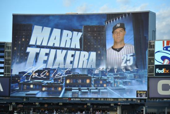 Yankee Stadium: Watching on Jumbo Tron