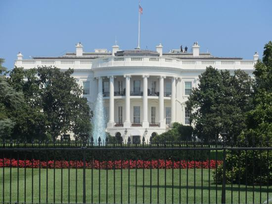 Washington, DC - White House (Front) - Picture of White ...