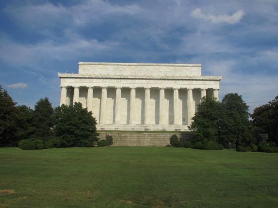 Washington, DC - Lincoln Memorial (Back View)