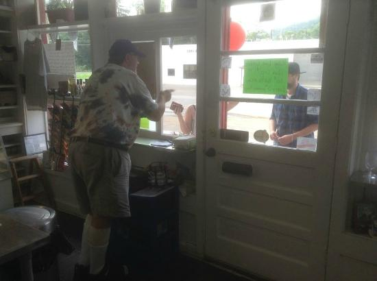 Westernport, MD: Big Lew serving customers