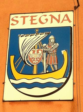 Sacred Heart Church: Code of arms of Stegna