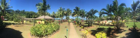 Korovisilou, Fiji: Garden view