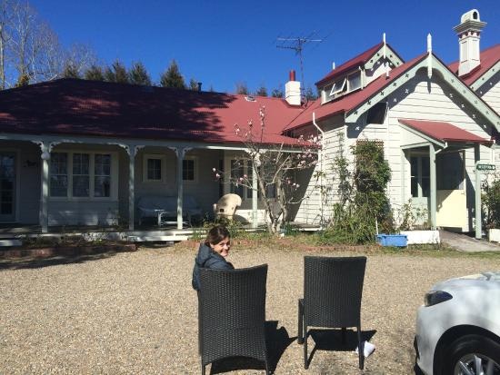 Norwood Mountain Lodge: the pretty sunny side