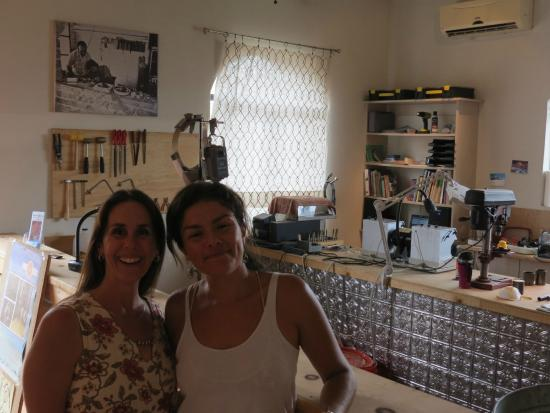 Todos Santos, Mexiko: Melissa's shop