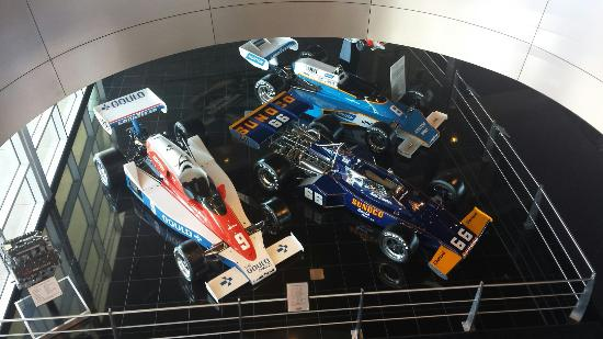 The Race Cars Inside Picture Of Penske Racing Museum Scottsdale