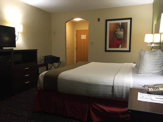 BEST WESTERN Rayne Inn: Room upon arrival