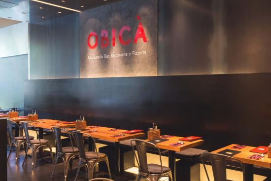 Obica Mozzarella Bar, Roppongi Hills