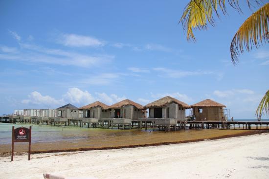 El Dorado Maroma By Karisma New Over The Water Villas Being Built