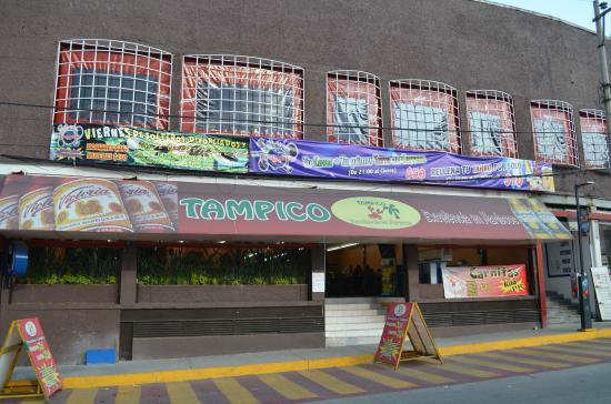 Fachada Del Restaurante Tampico Excelencia En Mariscos