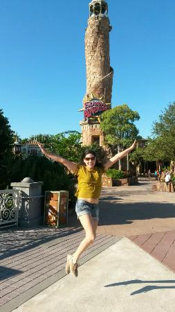 Universal's Islands of Adventure: Entrada do parque!