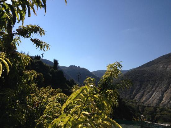 Refugio Romano: Hermosa vista