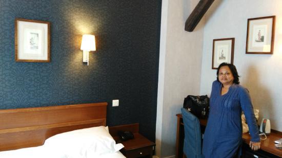 Passy Eiffel Hotel: Single Room