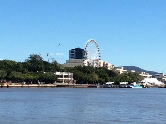 Brisbane City Council: Sights of Brisbane Wheel Southbank from city cat