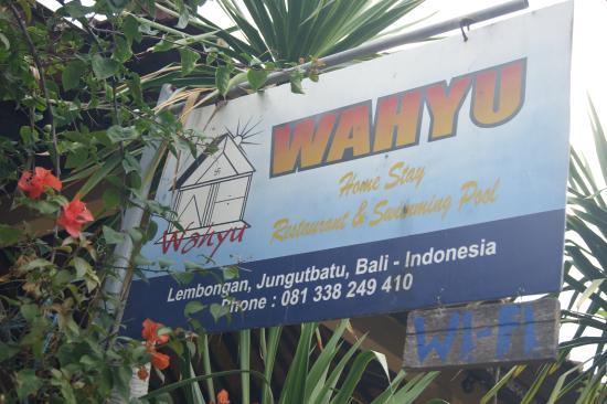 Wahyu Homestay 1: Реклама отеля