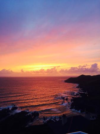 Lundy House Hotel: Stunning views from the balcony