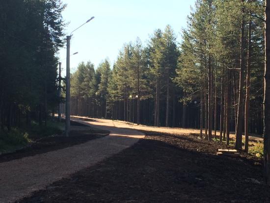 Polyarnyye Zori, Rosja: Парк здоровья и отдыха