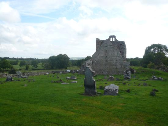 Jerpoint Park : View of remains  of church