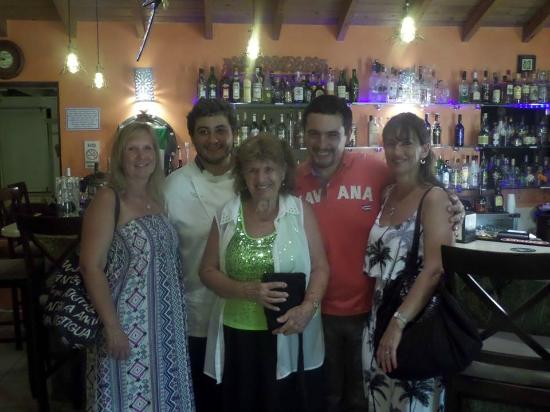 La Bussola Restaurant : End of a perfect holiday at La Bussola for dinner.