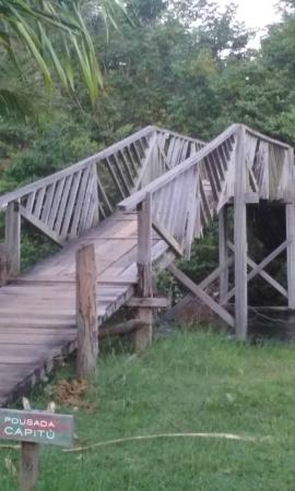 Pousada Luar Da Praia: ponte de acesso à Pousada