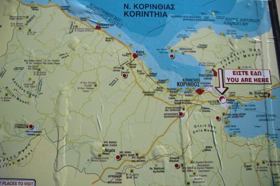 Corinth Canalthe map Picture of Corinth Canal Corinth TripAdvisor