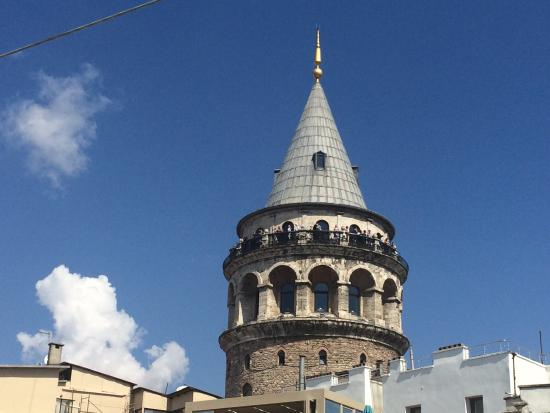 Galata Konak Cafe: View from the terrace