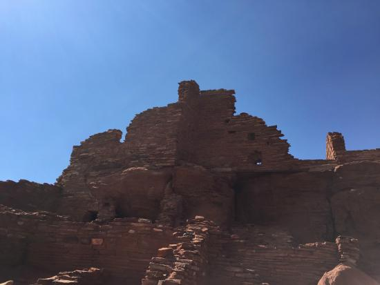 Wupatki National Monument: Wupatki pueblo ruins