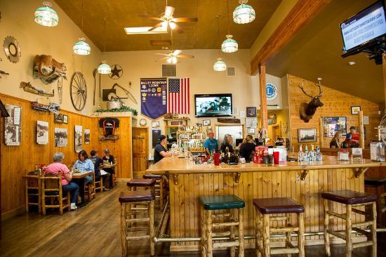 Rustic Station Restaurant The Bar Scene