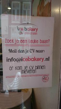 Ice Bakery: contact info