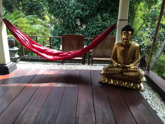 B&B Home Stay Griya Jungutan: Chillout