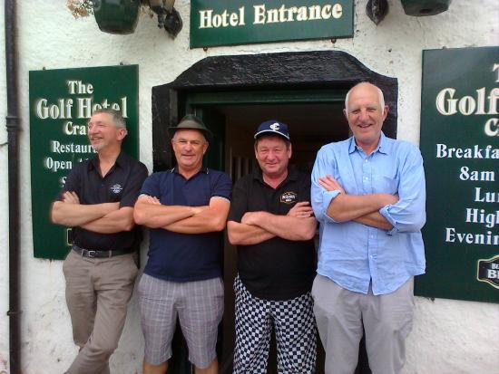The Golf Hotel: Mine host with mine mates