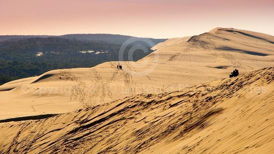 Dune du Pilat: La Dune le 25 décembre 2010