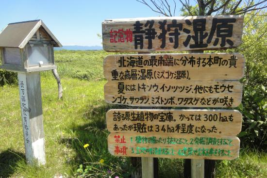 Oshamanbe-cho, Japan: 静狩湿原