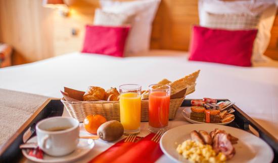 Hotel Royal Rochebrune: Room Service