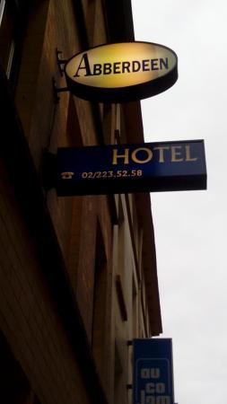 Abberdeen Hotel : insegna hotel