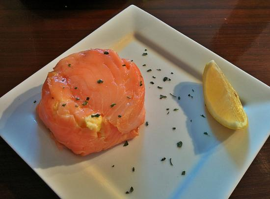 All the Twos: Breakfast : smoked salmon and scrambled eggs