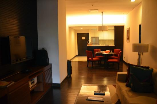 Somerset Greenways Chennai: Living room