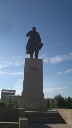 Statue of Kanysh Satpayev