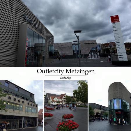 ‪‪Metzingen‬, ألمانيا: Stores in the outlet city‬