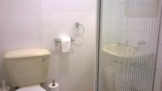 Avalon Hotel: Shower but no bath