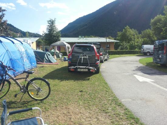 campeggio foto di camping spiaggia lago di molveno molveno tripadvisor. Black Bedroom Furniture Sets. Home Design Ideas