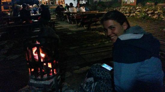 Camp Grab: Camp fire