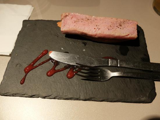 Tapa de atún rojo