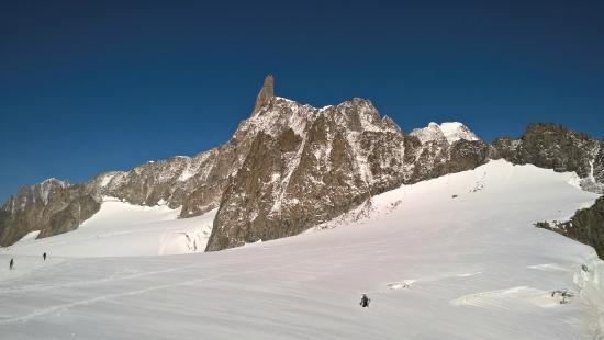 "Punta Helbronner - Skyway Monte Bianco: Il ""dente del gigante"" da punta Helbronner"
