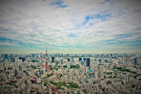 вид на город - Picture of Tokyo City View Observation Deck (Roppongihills), M...