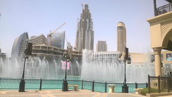 Fontenene i Dubai: Fountians