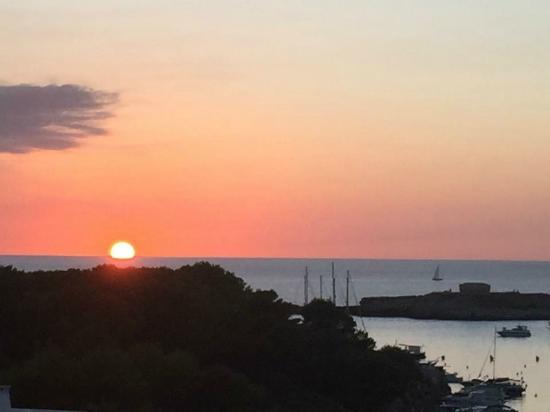 Santandria Playa Hotel: Pôr do sol do 6 andar.