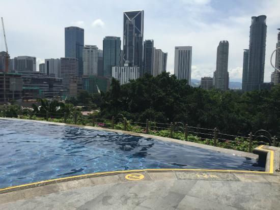 Mandarin Oriental, Kuala Lumpur: vista piscina